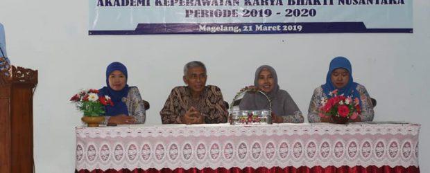 Pelantikan dan Serah Terima Jabatan Unit Kegiatan Mahasiswa Akper Karya Bhakti Nusantara Magelang Periode2019/2020